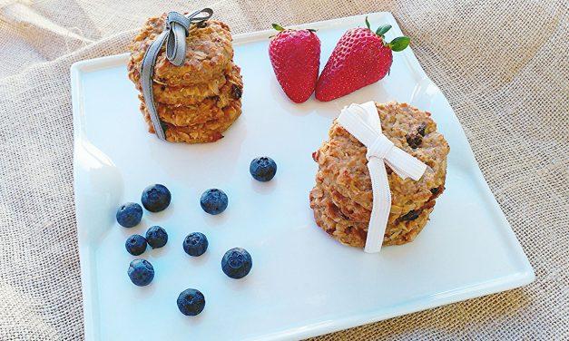 Cookies de Avena, Manzana y Nueces