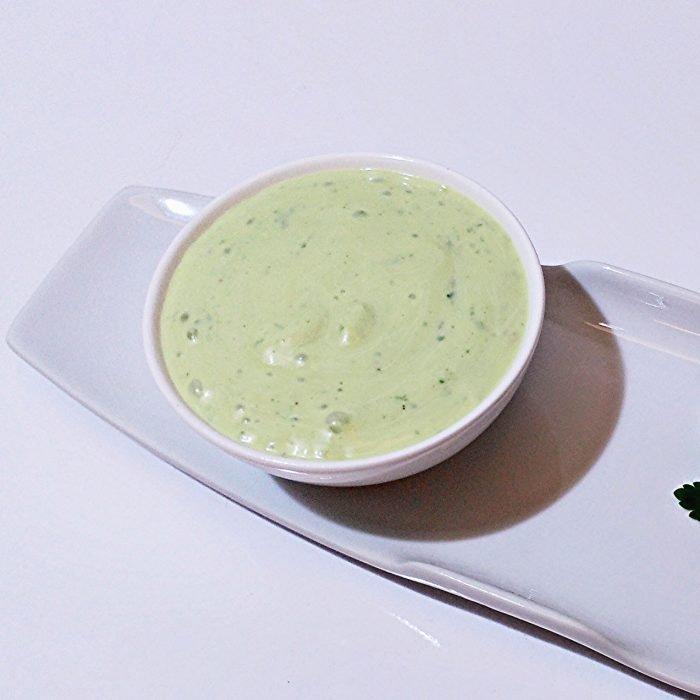 Salsa de yogur de soja y perejil