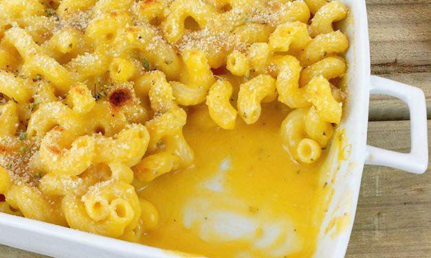 """Mac and """"cheese"""" veganos"""