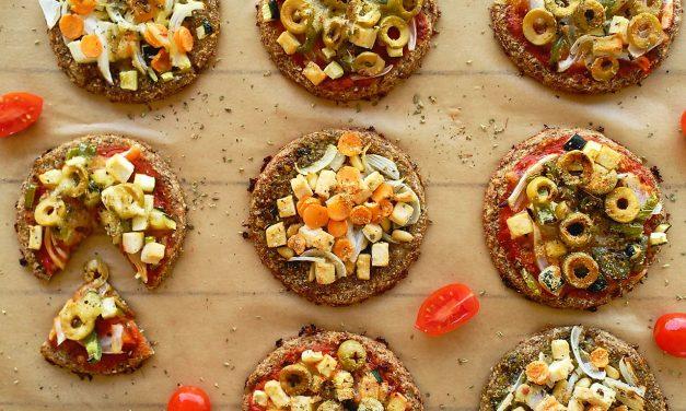 Pizzetas de coliflor