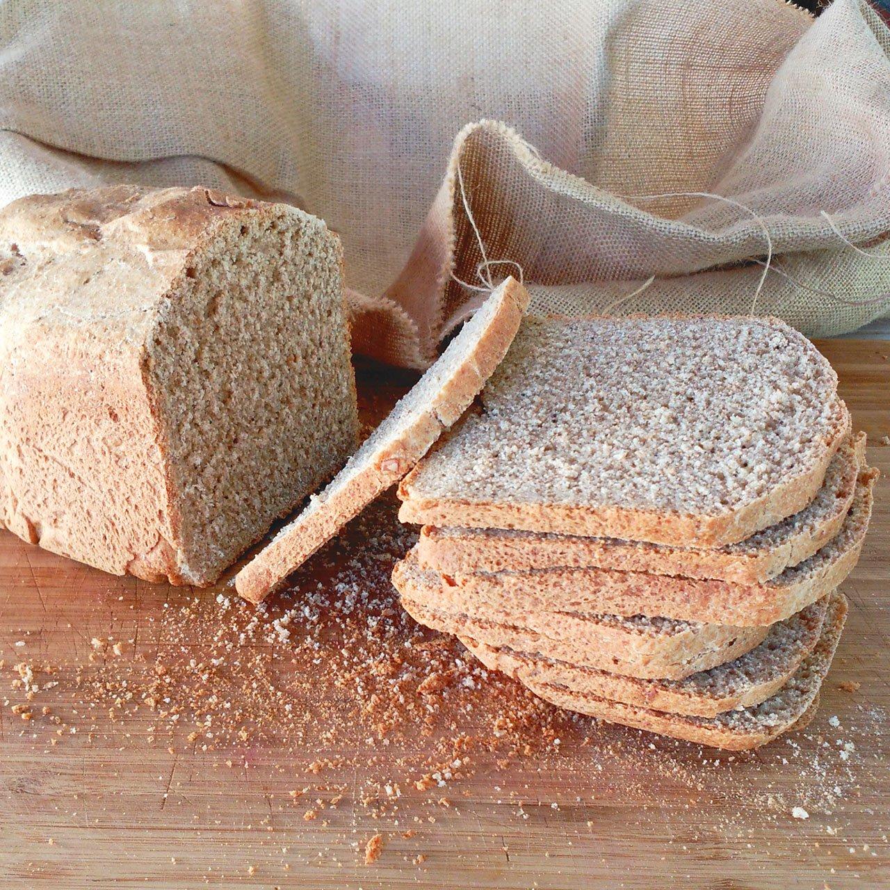 Pan de espelta integral con semillas (Panificadora)
