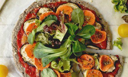 Pizza-Crêpe de trigo sarraceno