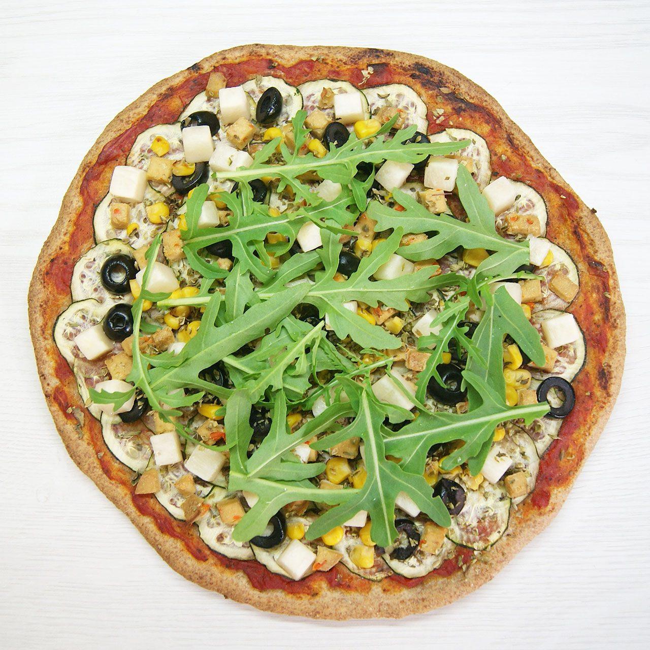 Pizza de espelta