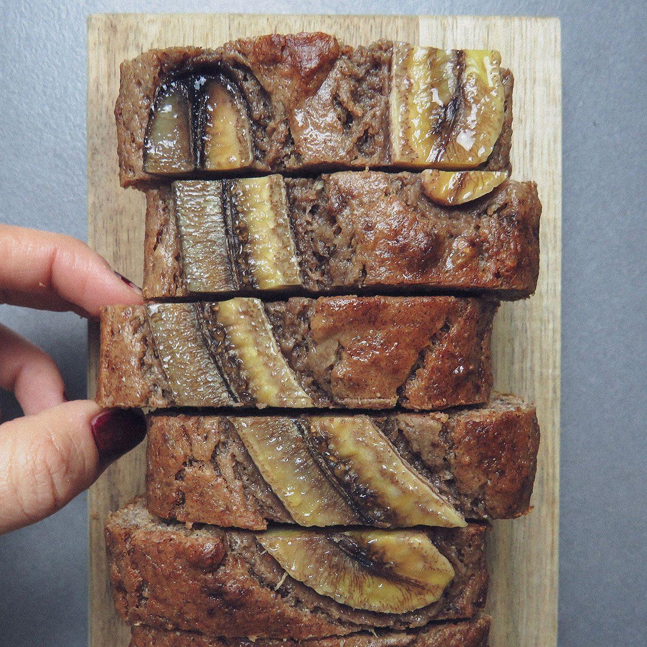 Banana Bread sin azúcar
