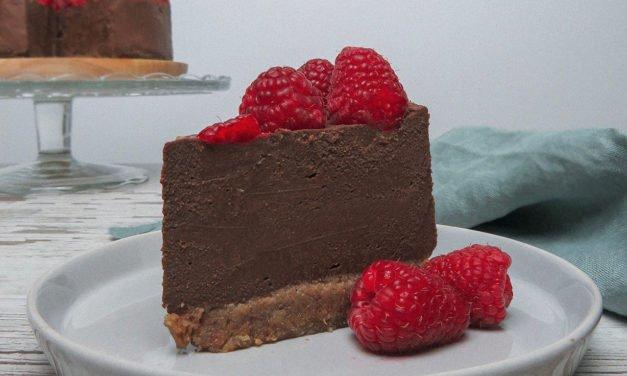 Cheese Cake de chocolate vegano