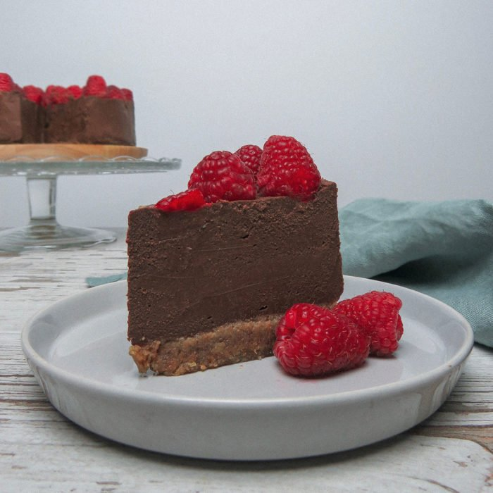 Cheese Cake de chocolate vegano