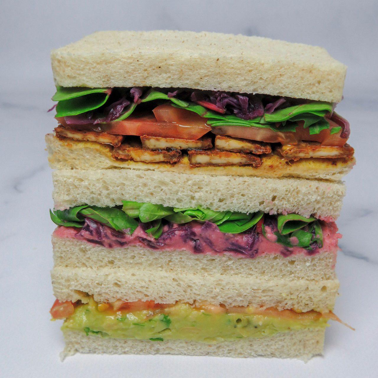 Tres ideas de Sándwiches veganos