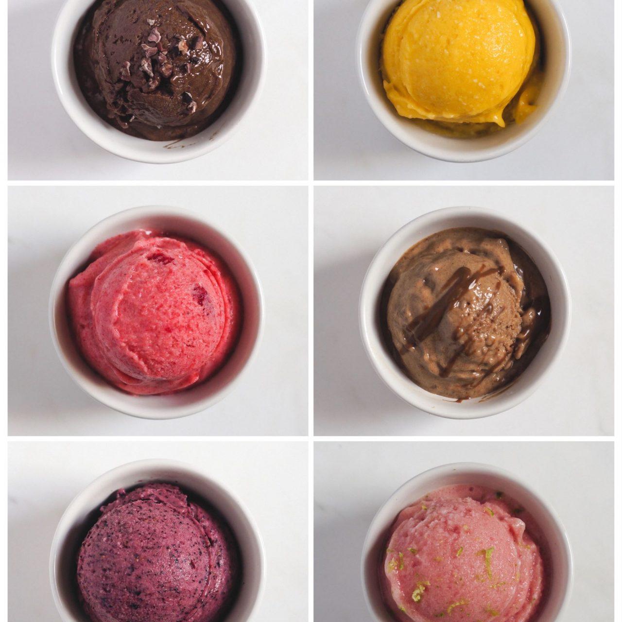 6 helados saludables a base de plátano