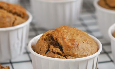 Muffins de zanahoria sin azúcar