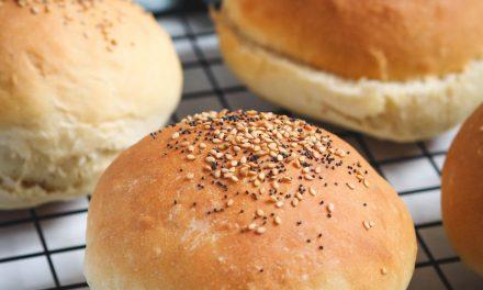 Pan de burger casero