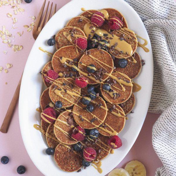 Pancakes fáciles de Avena